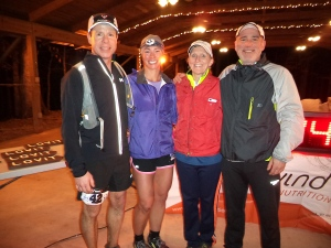 My Awesome crew, Jim and Pam Messenger, and 3rd place male Wes Ritner