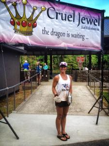 Cruel Jewel 2015 - 2nd place female 9th overall finisher 100M